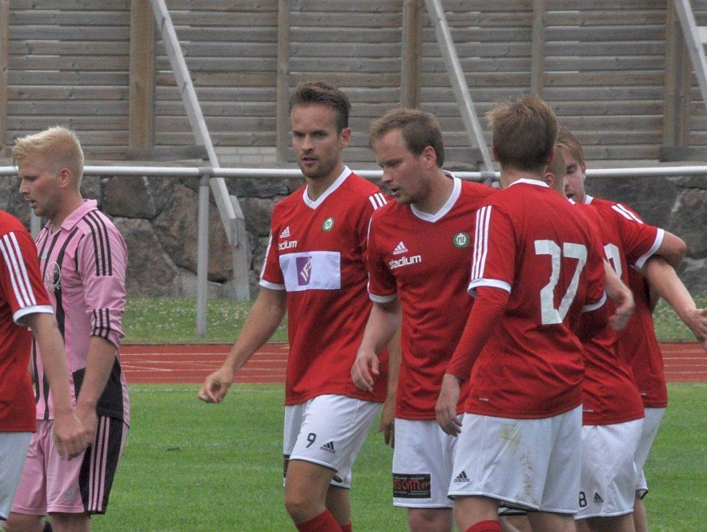 En måltjuvs bekännelser. Veli Hartola hara hittat rätt åtta gånger den här säsongen. Mot JyTy senast blev det två mål och en assist. Foto: Mikael Heinrichs.
